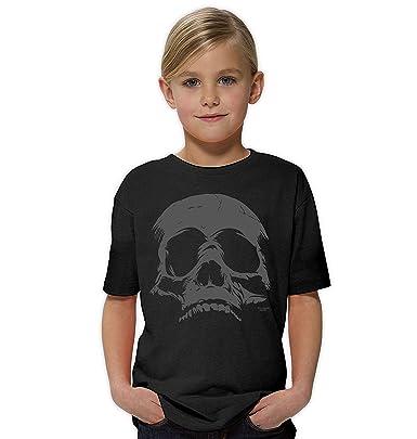 Soreso Design Soreso Design Skull : Tolles Halloween Kinder-Fun-Kostüm-T- Shirt Totenkopf Mädchen Teenager Party-Outfit-Bekleidung Tolles Geschenk  Farbe: ...