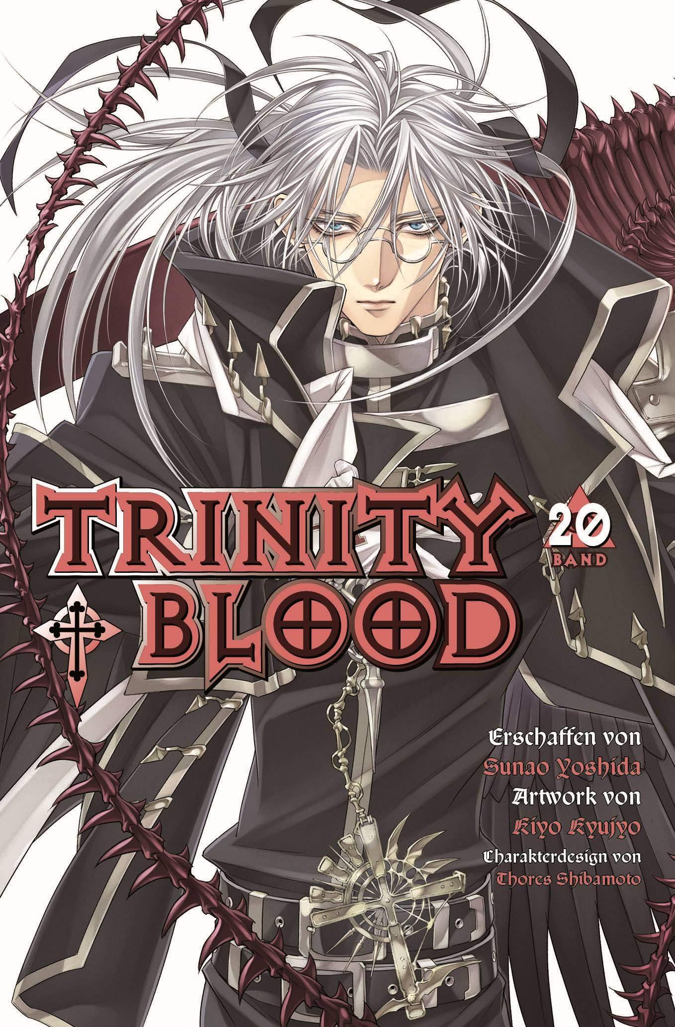 Trinity Blood: Bd. 20: Yoshida, Sunao, Kyujyo, Kiyo: 9783741608827: Amazon.com: Books