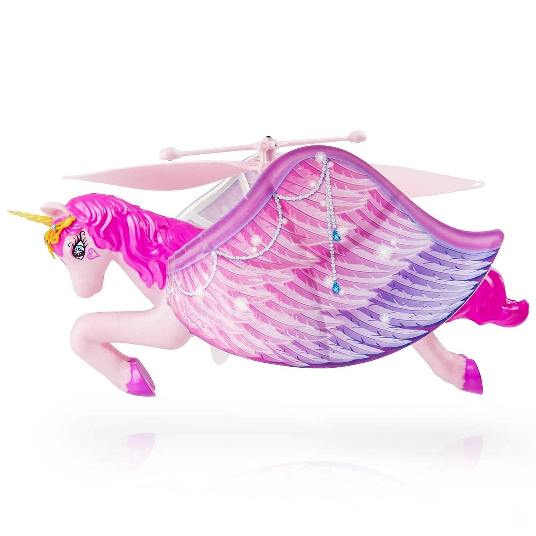 amazon com flutterbye fairy flying unicorn toys u0026 games