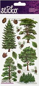 Sticko EK Success Majestic Trees Stickers