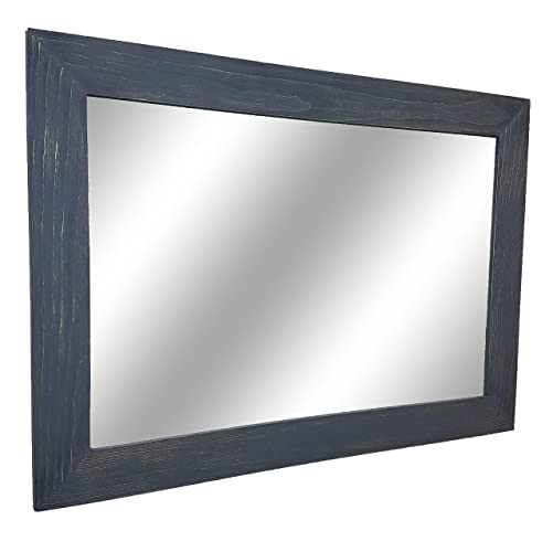 Amazon Com Shiplap Large Wood Framed Mirror Available In 4 Sizes