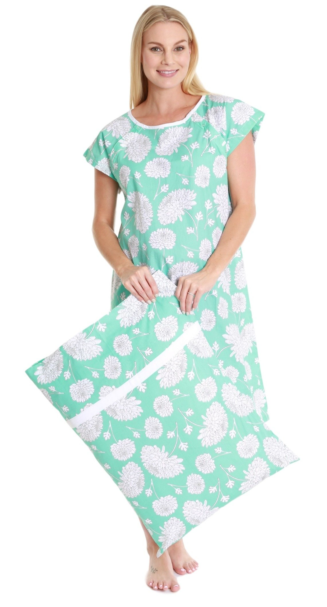 f3f198197cb Baby Be Mine Gownies - Delivery Maternity Hospital Gown Labor Kit  (Small Medium pre