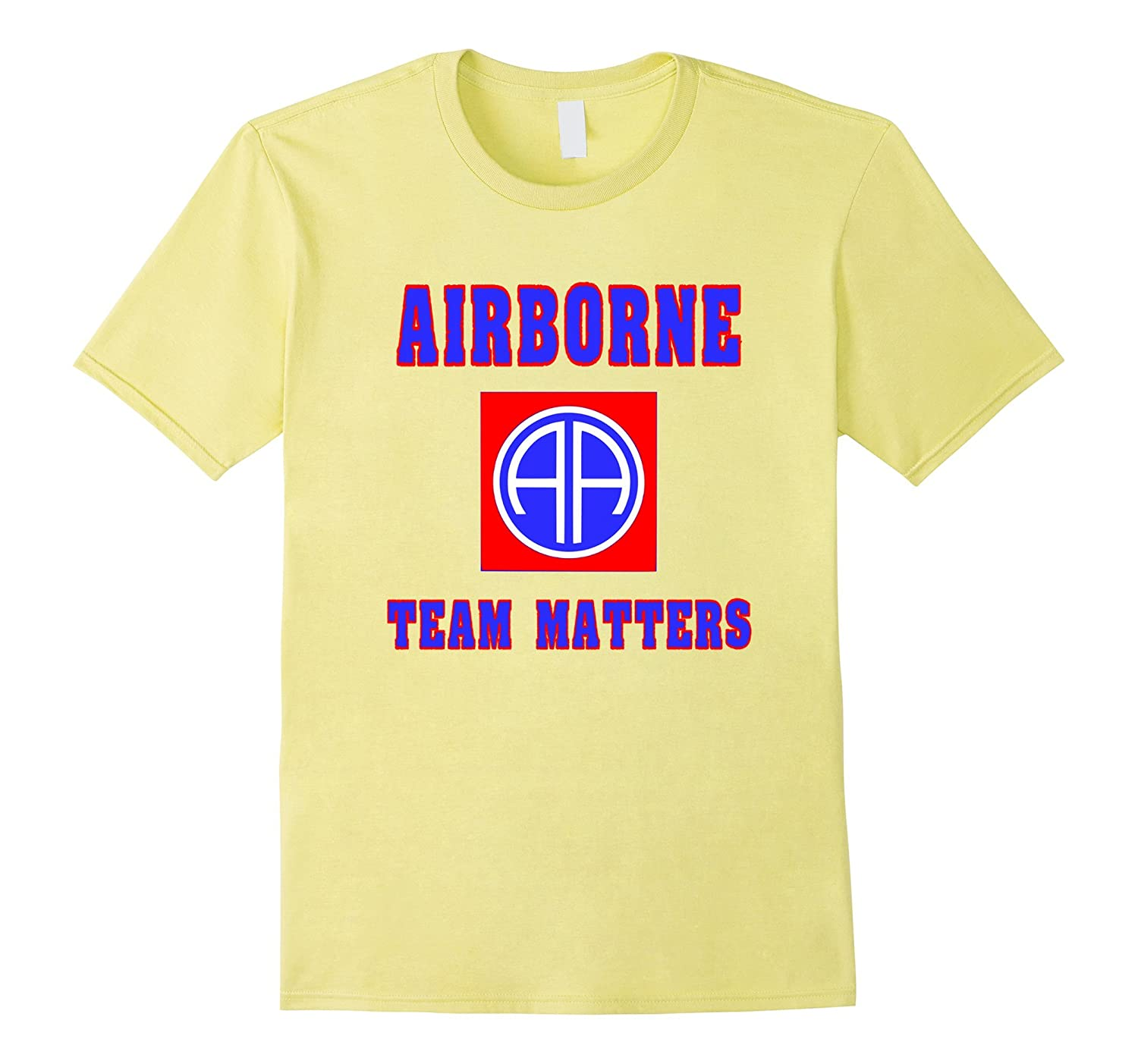 Airborne – Team Matters Army 82nd Paratrooper T-Shirt
