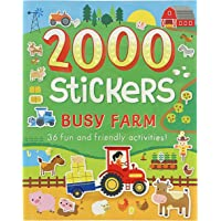 Image for 2000 Stickers Busy Farm Activity Book: Includes 36 Fun and Friendly Activities!