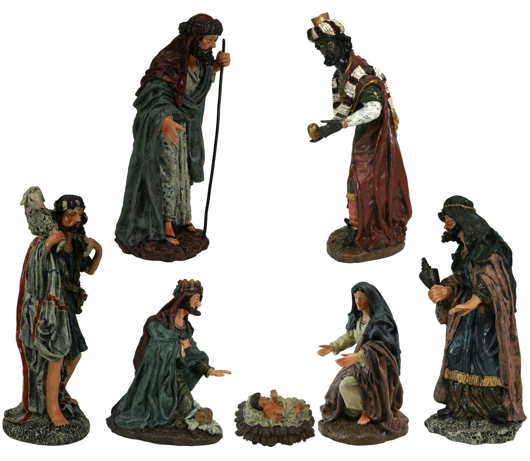7 Piece Tuscan Christmas Nativity Scenes [27406] by Nativity Figurines