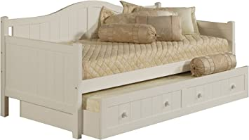 Amazon Com Hillsdale Furniture Hillsdale Staci White Daybed With