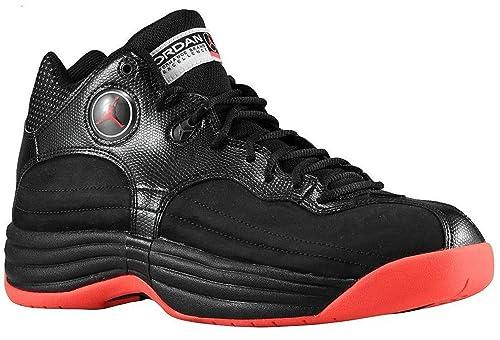 3291d3297827 Jordan Men s Jumpman Team 1 Black 644938-023 12.5  Amazon.ca  Shoes ...