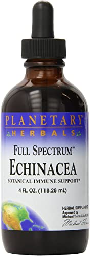 Planetary Herbals Echinacea 1 ml For Immune System Support – 4 oz