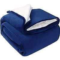 Utopia Bedding Sherpa Fleece Reversible Blankets