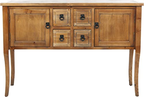 Safavieh American Homes Collection Dolan Brown Pine Sideboard