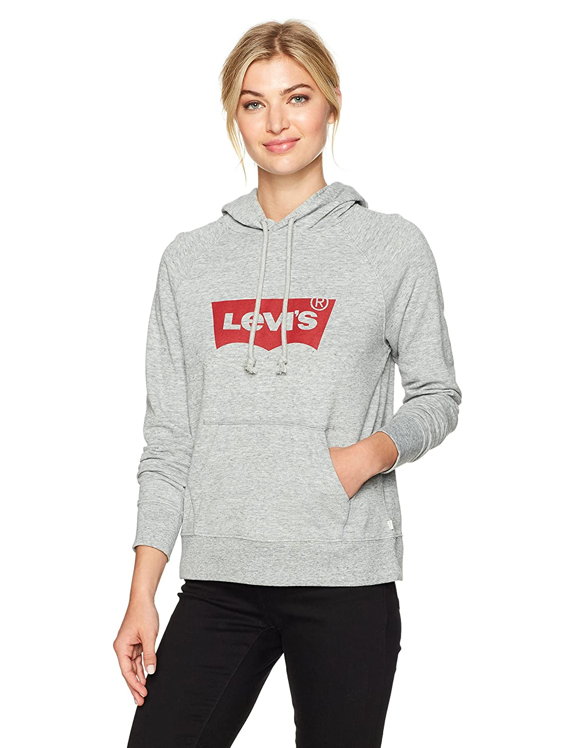 33b18a2aa1624 Amazon.com: Levi's Women's Graphic Hoodie: Clothing