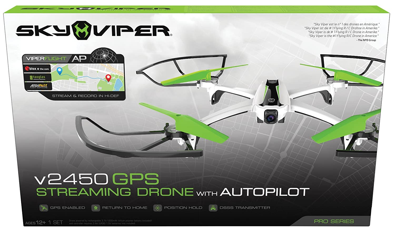 Goliath 90297 - Sky Viper Streaming Drone mit GPS