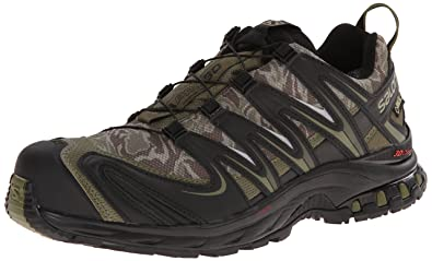 best service 7a4e1 41306 Salomon Men s XA Pro 3D GTX Running Trail Shoe, Camo Dark Khaki Black