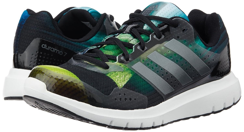 Adidas duramo 7 Sportschuhe grau mit Neon grün