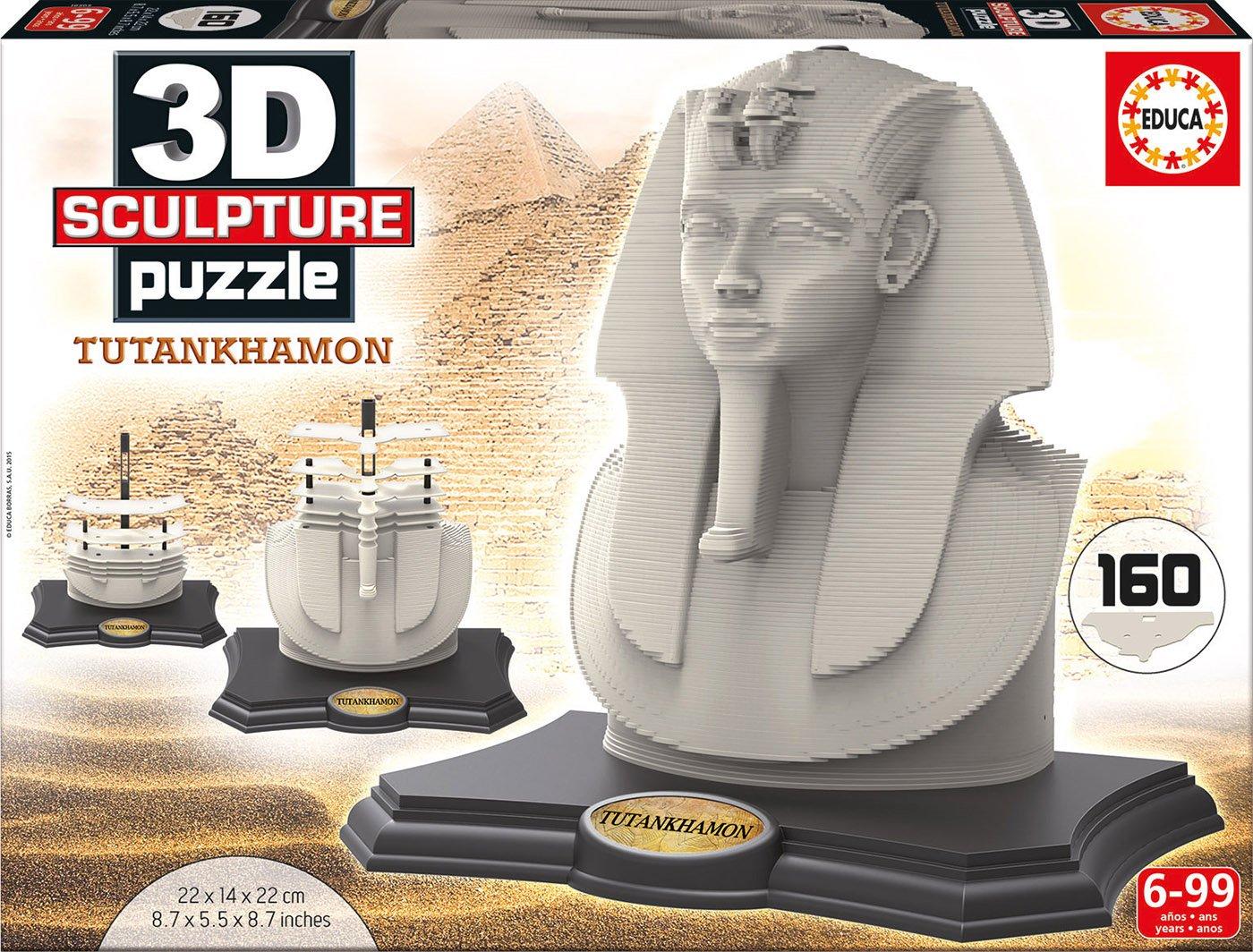 D Sculpture Puzzle con diseño Tutankhamon Educa Borras