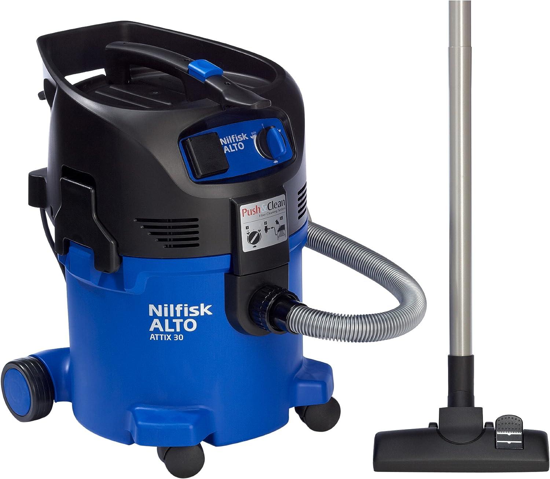 Nilfisk Attix 30-21 PC - Aspiradora en seco y húmedo: Amazon.es ...