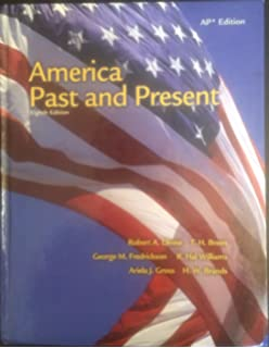 America past and present: ap edition hardcover ninth edition.