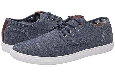 d7e615516ec GLOBALWIN Mens 1802 Blue Grey Casual Fashion Sneakers Size 7