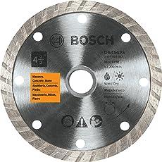 Bosch db442s Turbo borde (4-inch) hoja de diamante