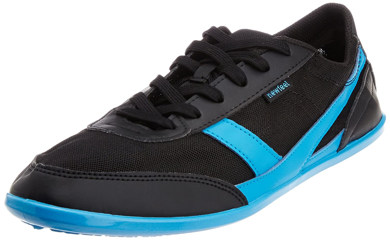 d98dcb24f3e Decathlon Men's Black and Blue Canvas Sneakers - 11 UK: Buy Online at Low  Prices in India - Amazon.in