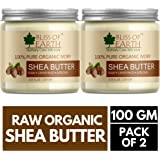 Bliss of Earth Ivory Shea Butter, 100g (Pack of 2)