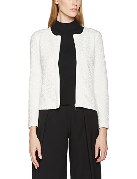 Gerry Weber All Day Glam, Chaqueta para Mujer, Blanco (Off ...