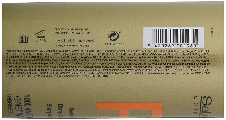 Salerm Cosmetics Protein Champú - 1000 ml: Amazon.es