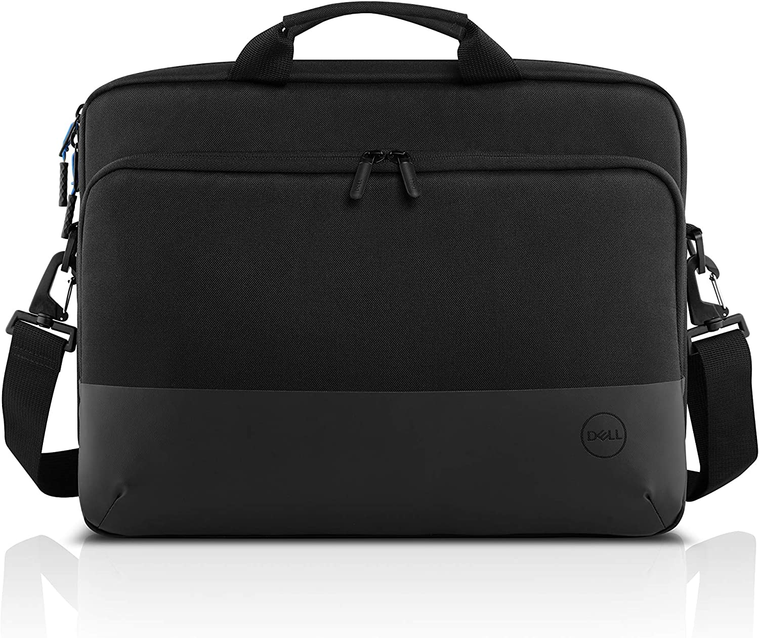 DELL PO1520CS Notebook Bag 38.1 cm (15 Inches) Black Briefcase Laptop Bag (Briefcase, 38.1 cm (15 Inches) Shoulder Strap, 549 g, Black)