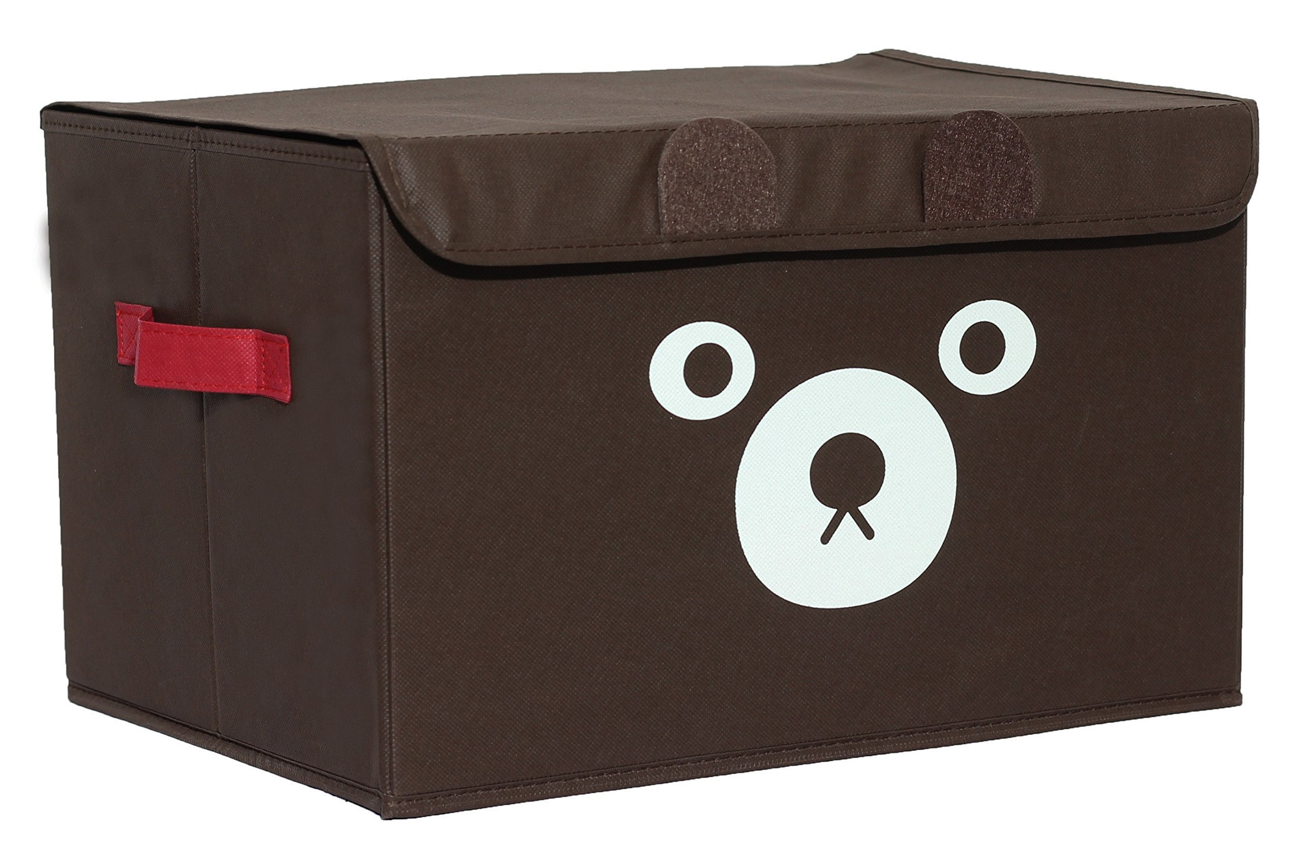 Katabird Storage Bin for Toy Storage, Collapsible Chest Box, Toys Organizer with Flip Lid for Kids Playroom, Baby Clothing, Children Books, Stuffed Animal and Gift Baskets,Unisex Toy Boxes for Nursery by Katabird