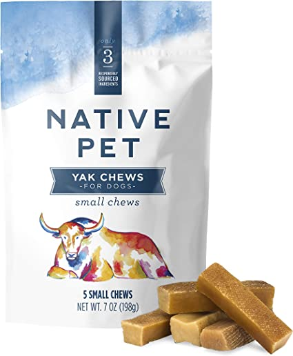 Low O... 6 Pack Peppy Pooch Yak Cheese Premium Dog Chew Long Lasting Small