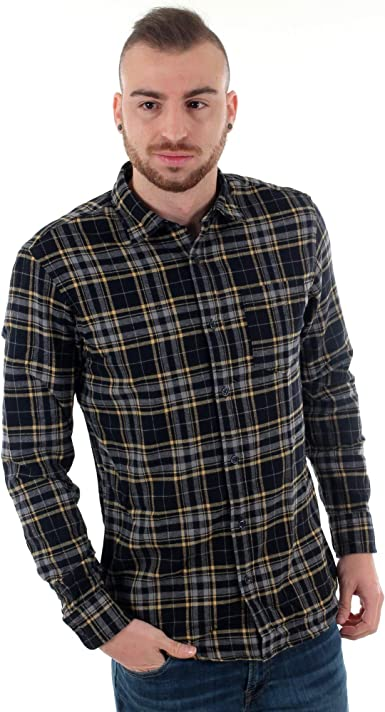 Camisa Jack&Jones Hombre XL Azul Marino 12161513 JORBROOK ...