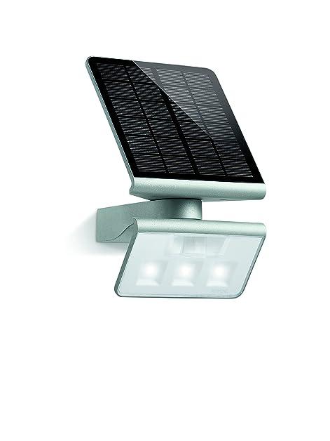 Steinel 671013 XSolar L-S Argent -Lampe solaire extérieur á LED ...