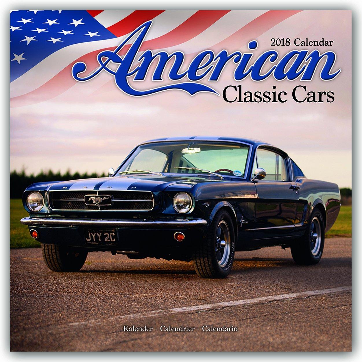 Classic Car Calendar - Muscle Car Calendar - American Muscle Cars ...