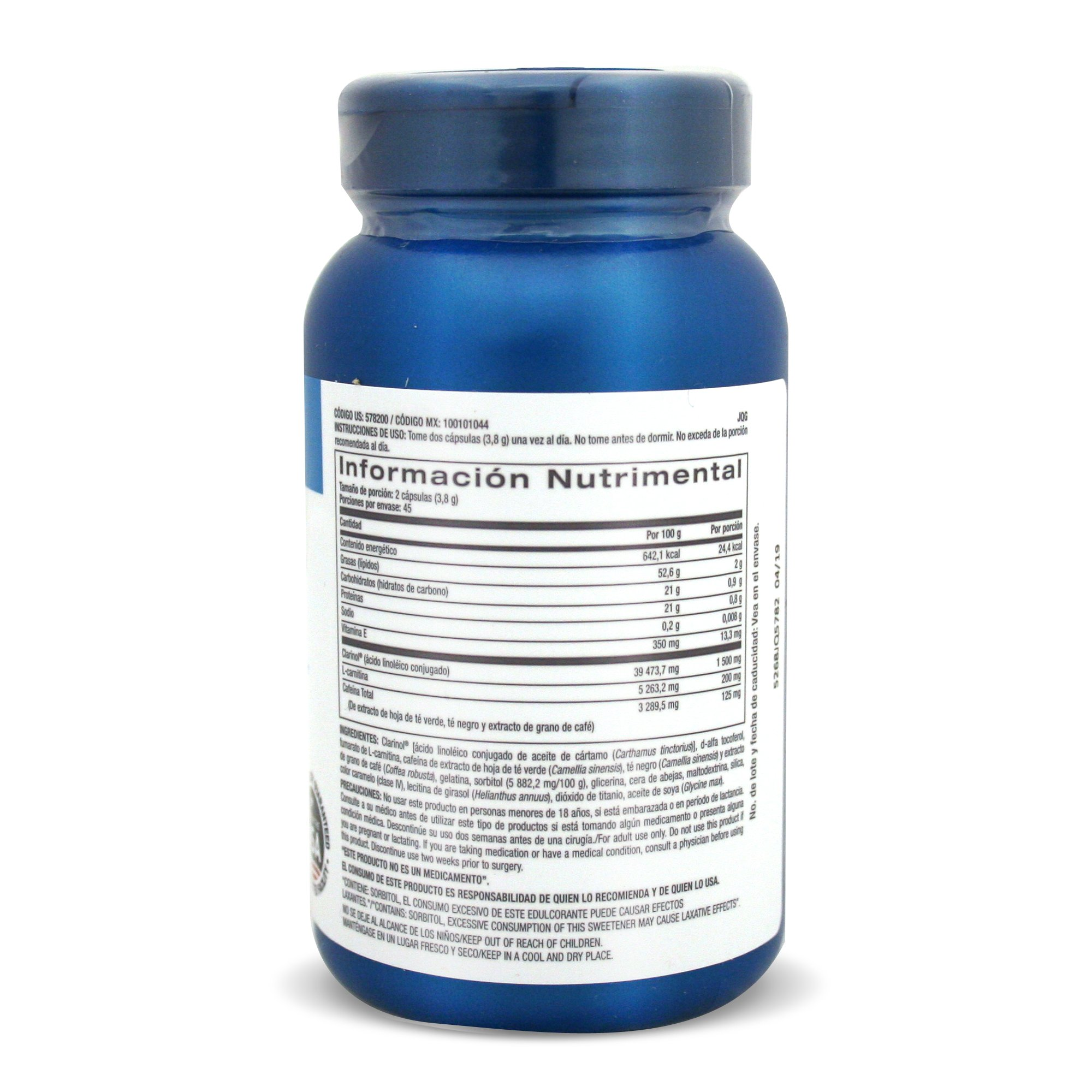 GNC Total Lean Thermo CLA for Healthy Body Composition and Lean Muscle Maintenance - 90 Count by GNC (Image #4)