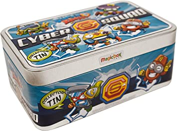 SuperZings - Super Lata Especial (PSZSD48TIN00), Incluye 5 Figuras en Color Metalizado: Amazon.es: Juguetes y juegos