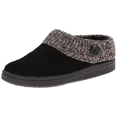 Clarks Women's Knit Scuff Slipper Mule   Slippers