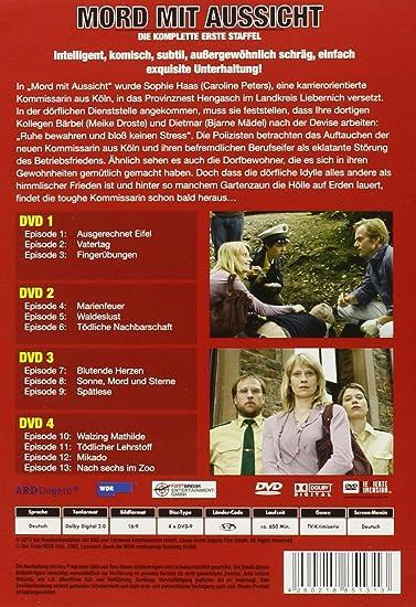 Mord Mit Aussicht Die Komplette Erste Staffel Gesamtbox 4 Dvds