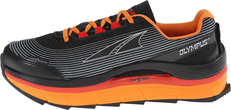 Olympus 1,5 Altra Zero Drop Zapatillas de Running gris/naranja ...