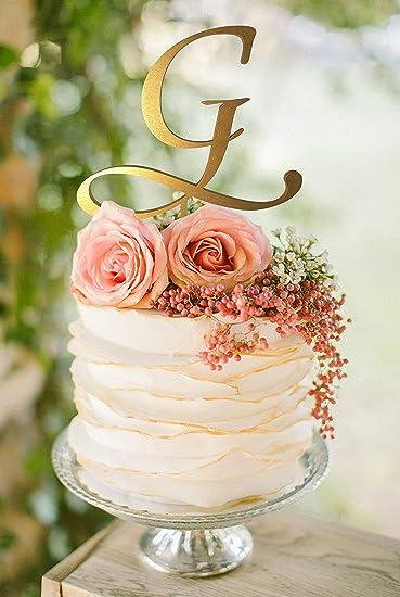 letter g cake topper gold monogram wedding cake topper initial cake topper cake topper g wood
