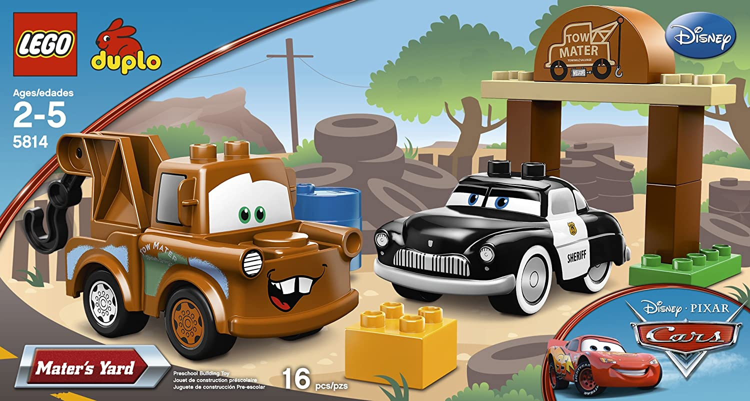 Amazon.com: LEGO DUPLO Cars Mater\'s Yard 5814: Toys & Games