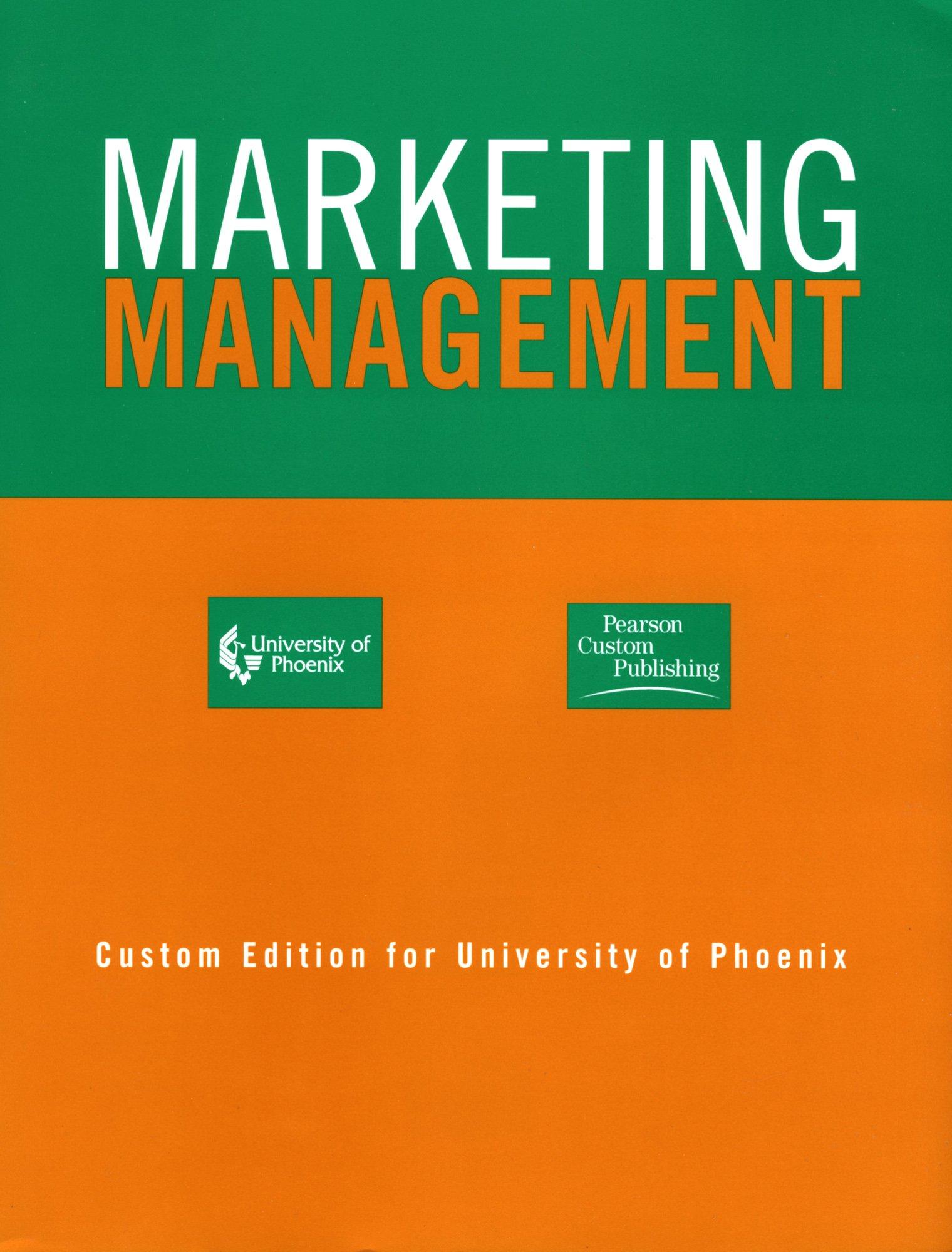 Marketing Management, Millenium Edition
