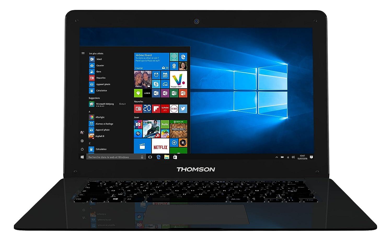 Thomson NEO14C-2BK32 - Ordinateur Portable 14, 1' Noir - Windows 10 Home - Processeur Intel Celeron - 2 Go de RAM - 32 Go de Stockage 1 Noir - Windows 10 Home - Processeur Intel Celeron - 2 Go de RAM - 32 Go de Stockage GROUPSFIT