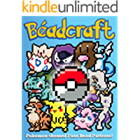 Beadcraft: Pokemon-themed Fuse Bead Patterns! (English Edition)