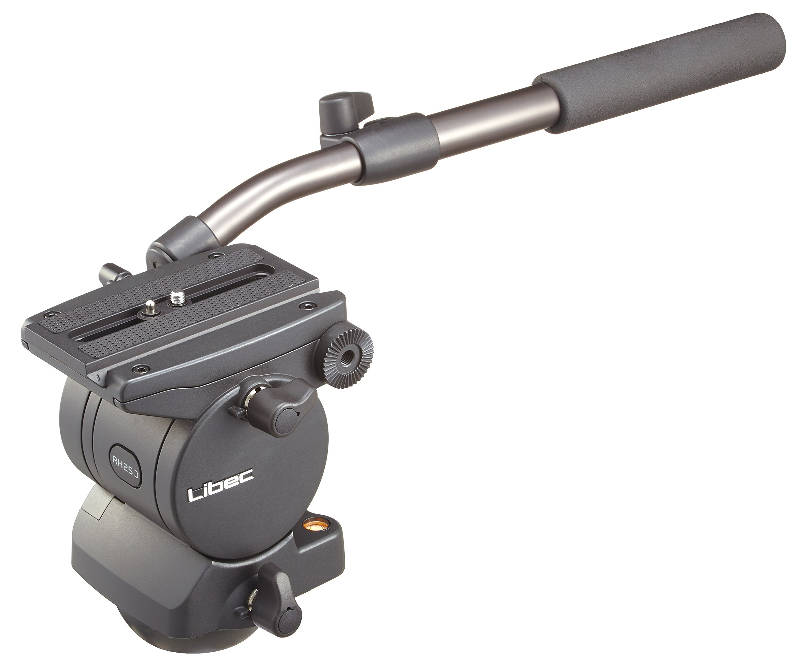 Libec RH25D Head with PH-6B Pan Handle, 13lbs Payload