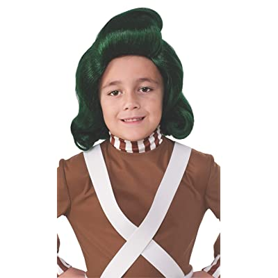 Rubie's Costume Kids Willy Wonka & The Chocolate Factory Oompa Loompa Wig: Toys & Games