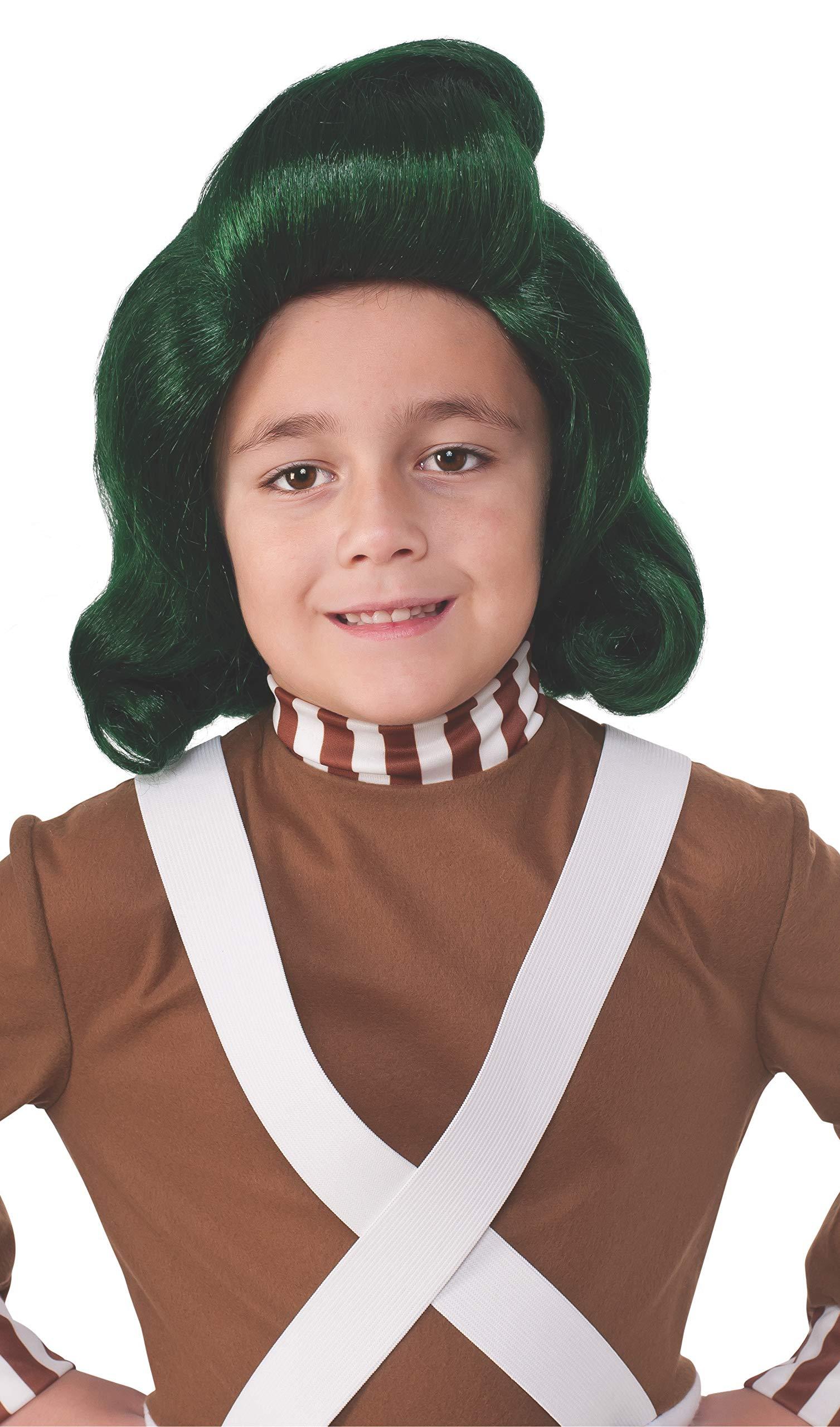 Rubie's Costume Kids Willy Wonka & The Chocolate Factory Oompa Loompa Wig by Rubie's