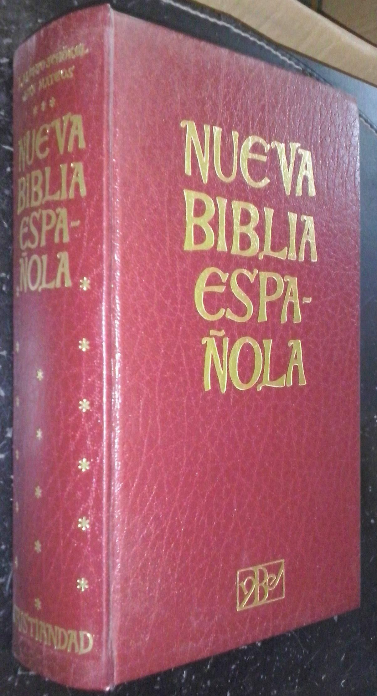 NUEVA BIBLIA ESPAÑOLA: Amazon.es: Schökel - Mateos: Libros