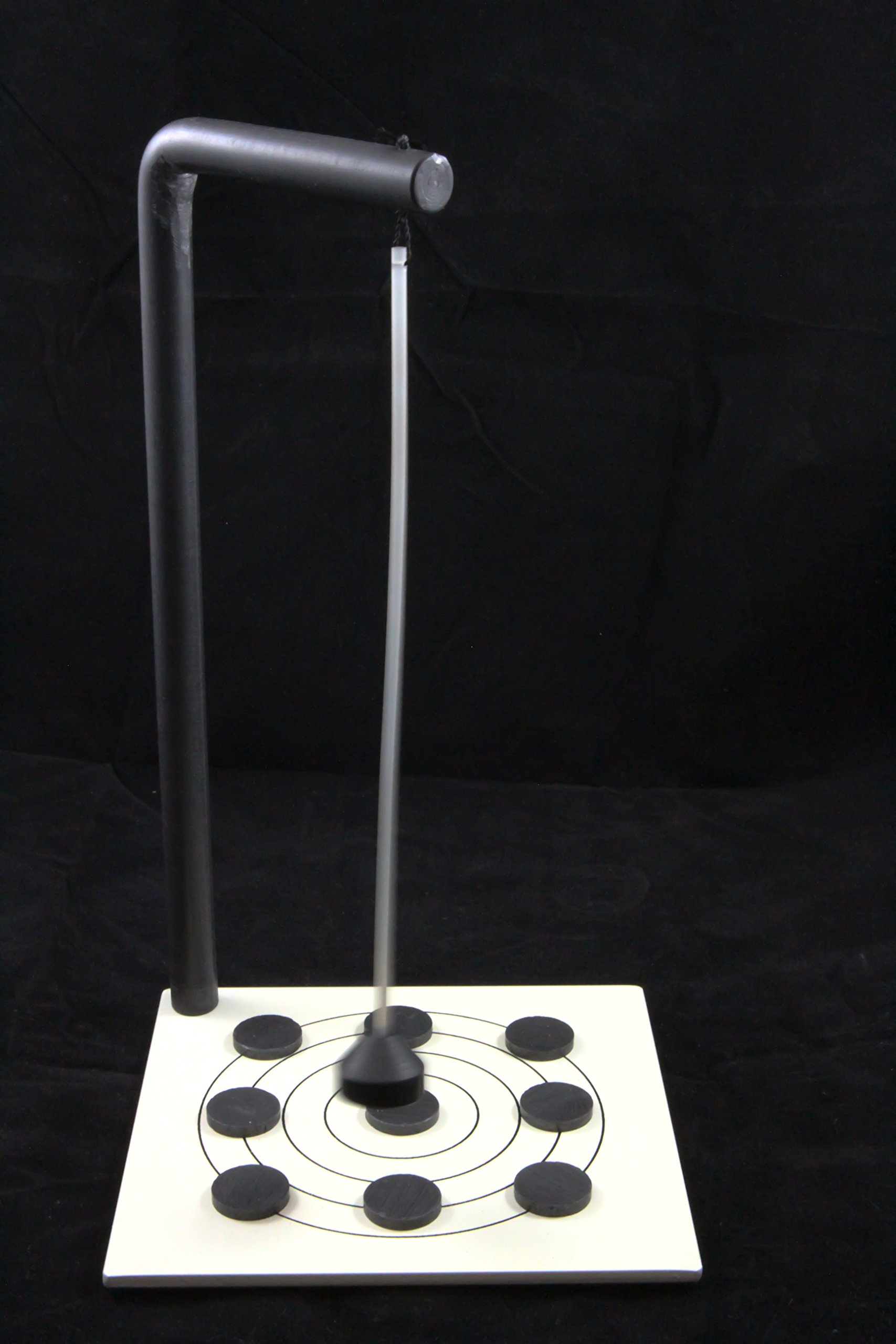 Randomly Oscillating Magnetic Pendulum (R.O.M.P.)