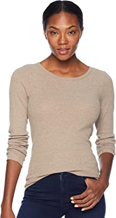8a382e13bd0980 Filson Women s Winthrop Ribbed T-Shirt Heather Taupe X-Small at ...