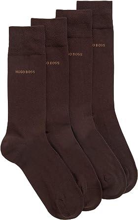 Oferta amazon: BOSS RS Uni CC Calcetines, (Pack de 2) para Hombre Talla 43-46